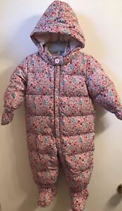6 month- 12 month Girl's baby winter snow suit