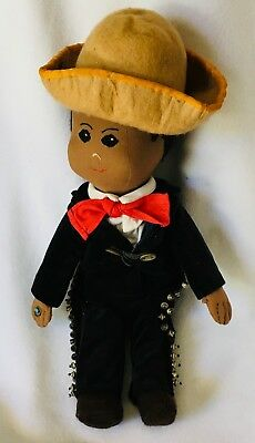 OOAK Boy from Mexico Cloth Doll made by Althea Bieler 1997 Mariachi](Mariachi Clothing)