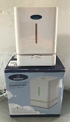 BABYSTART 3.2L ULTRASONIC HUMIDIFIER MODEL SK6151 FULLY WORKING EX DISPLAY BOXED