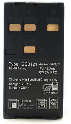 Adirpro 77geb121 Nimh Battery For Total Stations And Builder Theodolites Leica