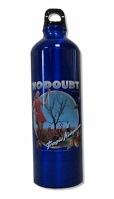 No Doubt Tragic Blue Water Bottle New Official Band Music