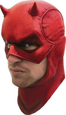 Rubie's Daredevil Cowl Mask Men's One Size Fits Most Marvel Universe New - Marvel Daredevil Halloween Mask