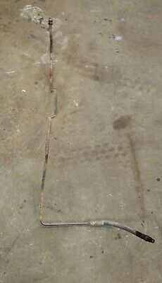 1964 Farmall 504 Tractor Ih Hydraulic Oil Top Upper Line To Cooler