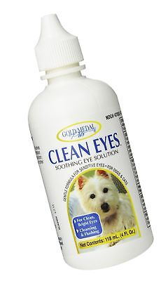 Gold Medal Pets Clean Eyes for Cats and Dogs, 4 oz. Free Shipping