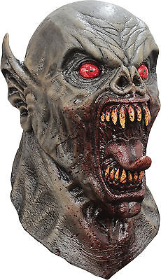 Halloween Costume ANCIENT NIGHTMARE SCARY DEMON LATEX DELUXE MASK Haunted House - Scary Demon