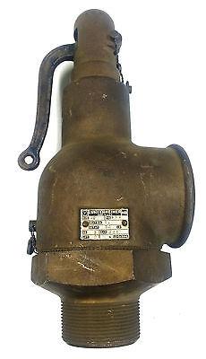 Lunkenheimer Fig 629 2 Input3 Output Brass Safety Relief Valve