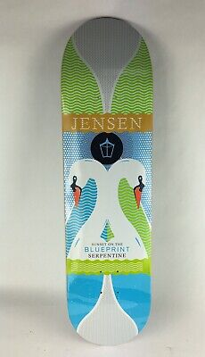 "BLUEPRINT skateboards deck 8.25"" RARE quality Jensen Sepertine"
