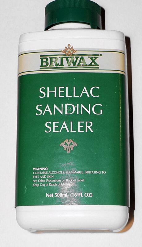 Briwax Shellac Sanding Sealer ~ 16 FL OZ / 470 ML