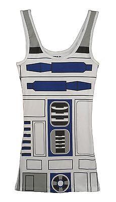 Star Wars I Am R2D2 Kostüm Tunika Tank - Tank Kleid Kostüme