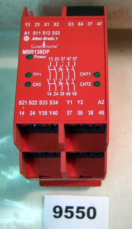 (9550) Allen Bradley Guardmaster Safety Relay 440R-M23080