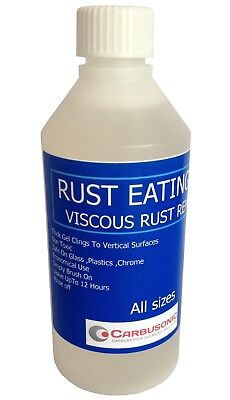Rust Eater Gel Corrosion Removal For Vertical Surfaces 250 ml STAINLESS SAFE.
