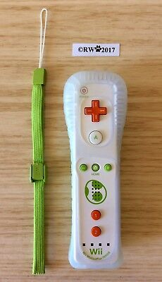 GENUINE OFFICIAL NINTENDO Wii / Wii U MOTION PLUS REMOTE YOSHI LIMITED EDITION