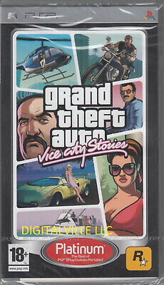 Grand Theft Auto Vice City Stories Sony PSP Brand New Factory Sealed