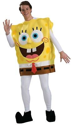 Adult Sponge Bob Costume (SPONGEBOB SQUAREPANTS DELUXE ADULT)
