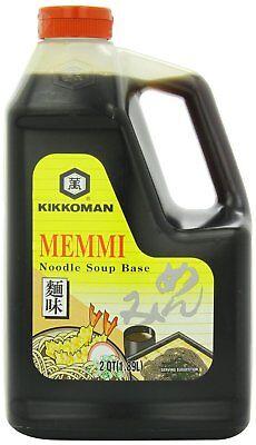 Kikkoman Memmi Noodle Soup Base, 64 - Noodle Soup Base