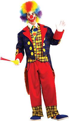 Checkers The Clown Adult Men's Costume Jacket Halloween Dress Up Forum Novelties ()