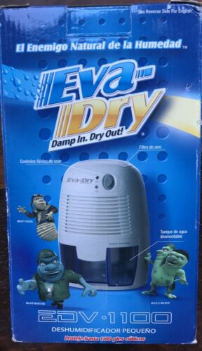 Eva-Dry Petite Small Dehumidifier EDV 1100 New in Box