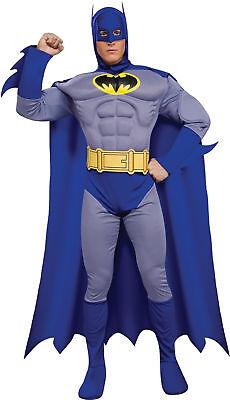 Batman Tapferen & Dreist Deluxe Muskel Brust Erwachsene Kostüm Superheld