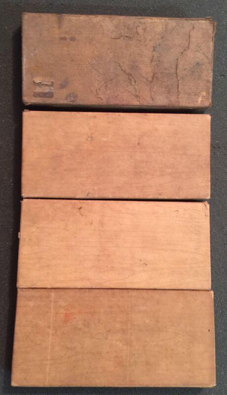 Vintage Grumbacher Finest Soft Pastel Sets / 4 Boxes Of 12 Pastels / Rembrandt