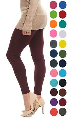 Halloween Leggings Womens (Leggings for Women LMB Basic Seamless Full Length in Many Colors Halloween)