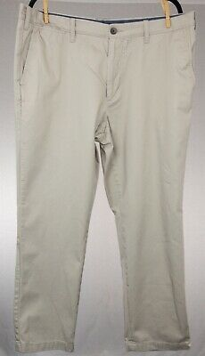 Nautica Men's Khaki Classic Fit Chino Pants 38X30