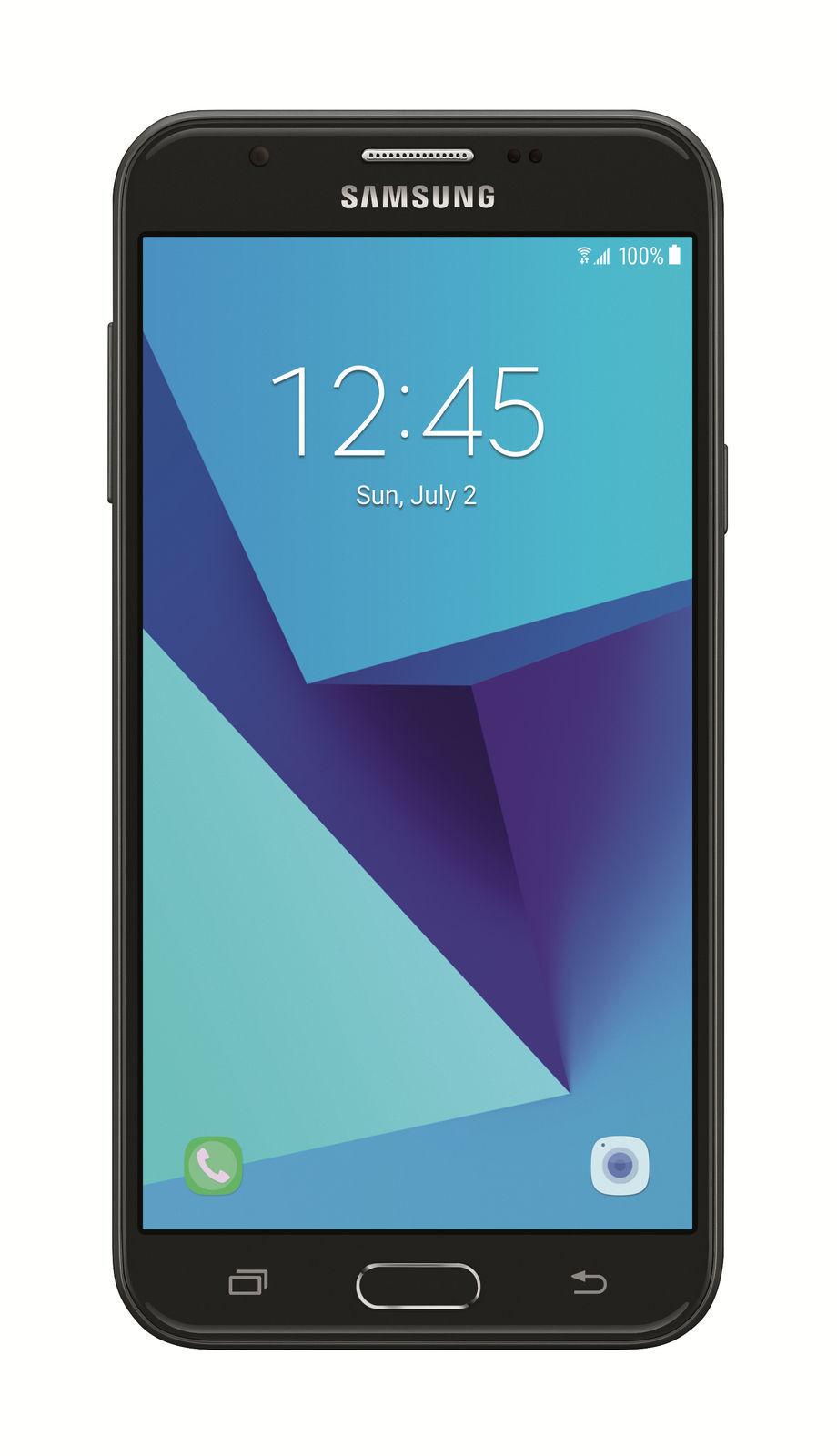 Samsung Galaxy J7 SM-J727 - 16GB - Black (Unlocked) Smartphone - (2017)