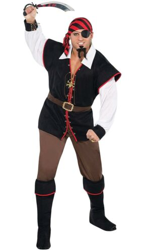 Halloween costume Amscan Rebel of The Sea Adult Pirate Costume Size Standard