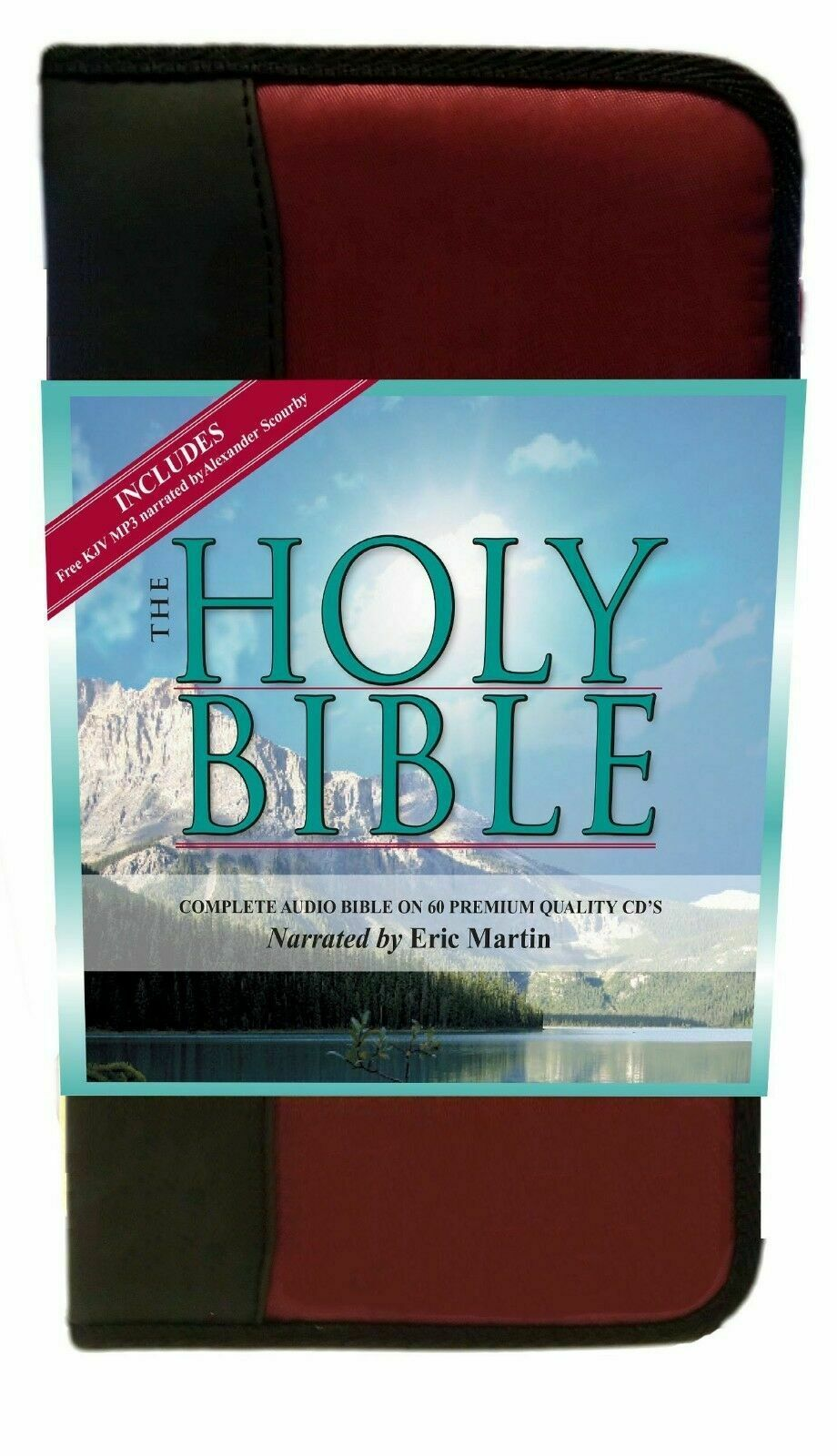 King James Version Audio Bible on CD Alexander Scourby Complete Very Good
