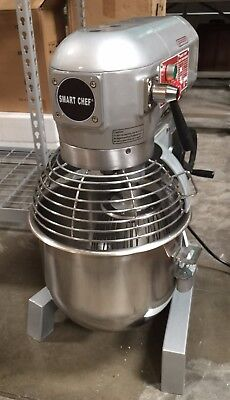 20qt Bakery Dough Food Mixer Gear Driven 3 Speed Wetl Nsf 1.2hp Free Shipping