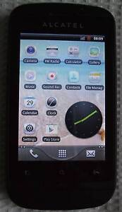 UNLOCKED Alcatel OT918 Dual SIM phone Mount Barker Mount Barker Area Preview