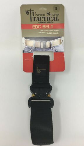 "U.S. Tactical 1.75"" EDC Wilderness COBRA Belt, Black, Size Small (30"" - 34"")"