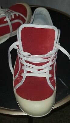 Vintage Mens Red Gucci Sneakers Size 6