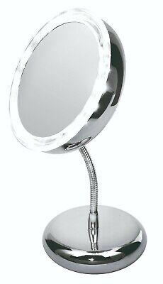 Espejo de aumento para maquillaje con luz LED para Baño Mesa