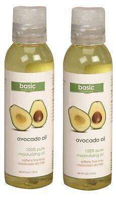 Avocado Body Oil 100% Pure Moisturizing Softens Moisturizes Dry Skin 4 Oz 1/2