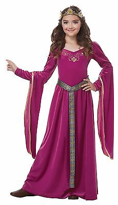 Renaissance Medieval Princess Girls Child Costume - Girls Renaissance Dresses