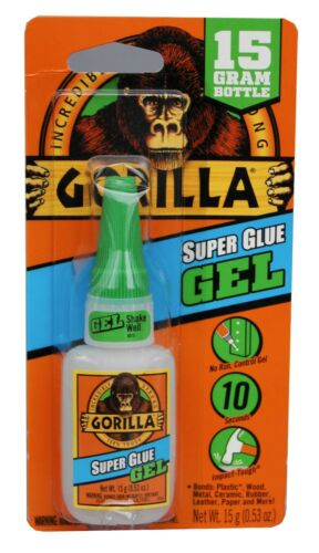 Gorilla Super Glue Gel 15 Gram