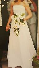 Size 12  A-line Wedding Dress Bodice and skirt Rose Bay Eastern Suburbs Preview