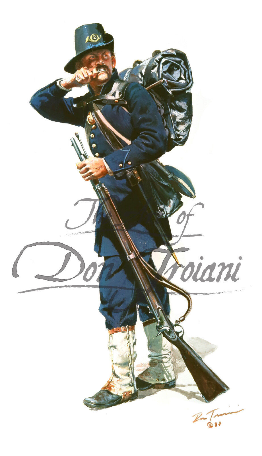 "1864/""-Don Troiani Petersburg /""2nd Connecticut Heavy Artillery"