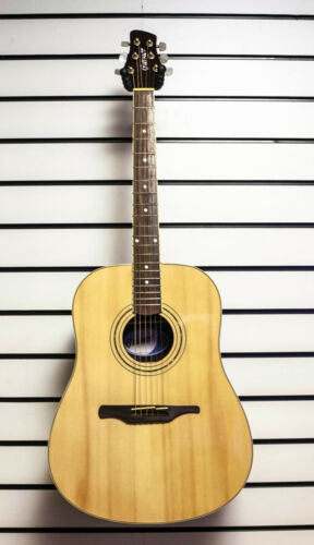 Guvnor GA530 Electro Acoustic Dreadnought Guitar Steel Strings Solid Spruce Z00