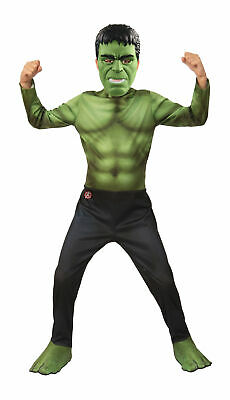 Hulk Avengers Child Boys Costume NEW](Baby Hulk Costumes)
