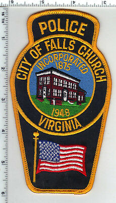 City of Falls Church Police (Virginia) Shoulder Patch - new