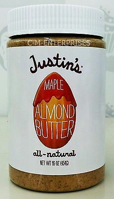 Justin's All Natural Maple Almond Butter 16 oz Justins
