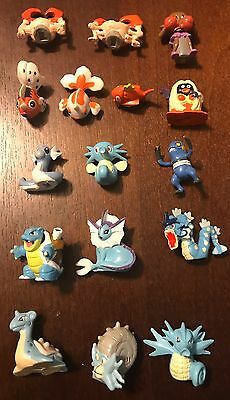 Rare Pokemon Miniature Figures Lot from Mystery Poke Pack U PICK ONE FIGURE