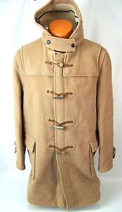 vtg Mens The Original GLOVERALL DUFFLE COAT Toggle Made in ENGLAND JACKET -44-