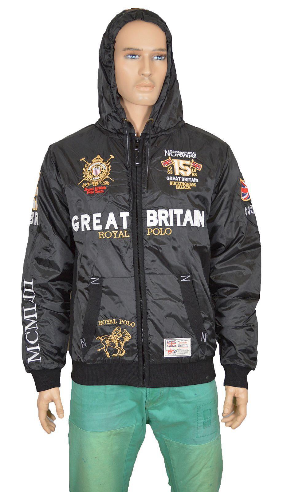 Geographical Norway Bingland MEN Great Britain Herren Jacke Jacken sale 11021602