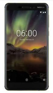 Brand New Unlocked Nokia 6.1 (2018) Black AU Stock