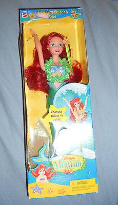 Mattel Disney's The Little Mermaid Tropical Splash Ariel Doll 17842 In Box