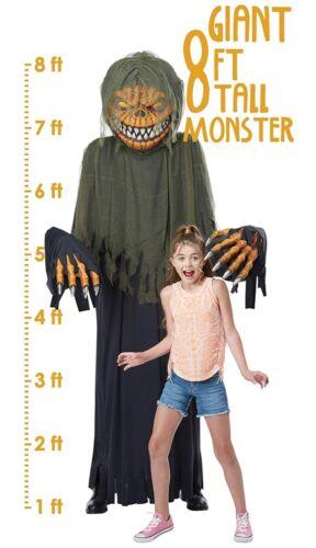 Halloween costume and prop Towering Terror 8 ft Pumpkin Vampire (a) One Size