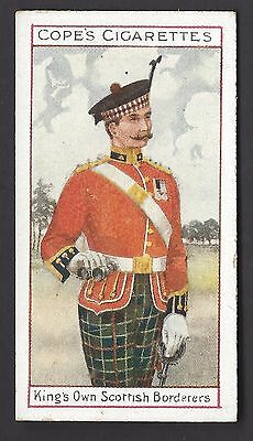 COPE - EMINENT BRITISH REGIMENTS OFFICERS (BROWN BACK) - #22 KING'S OWN SCOTTISH