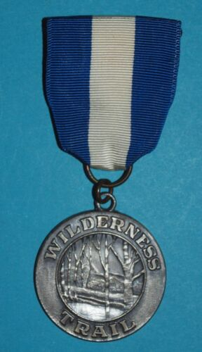 WILDERNESS HISTORICAL TRAIL  MEDAL - NICE -   BOY SCOUT - 10006